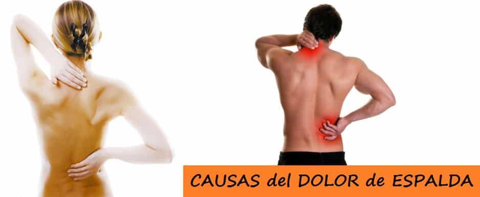 Causas del Dolor de Espalda