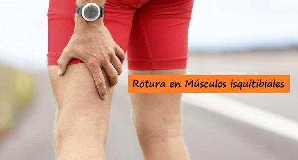 Desgarro Muscular Isquiotibiales