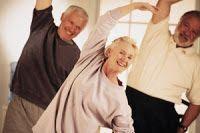Gimnasia para personas mayores