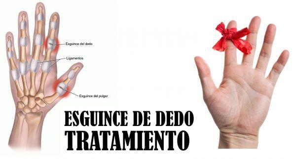 inmovilizar el dedo pulgar dela mano