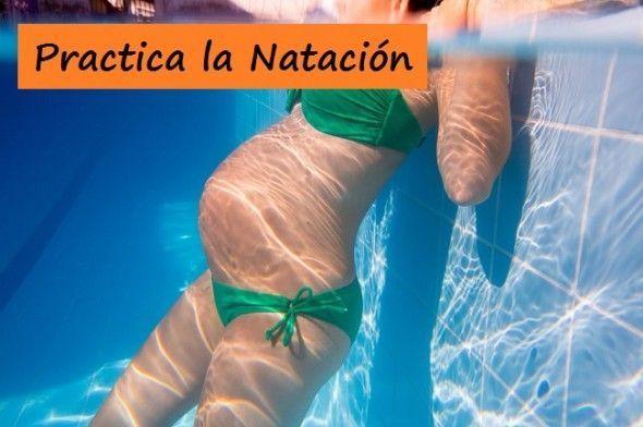 natacion para embarazadas
