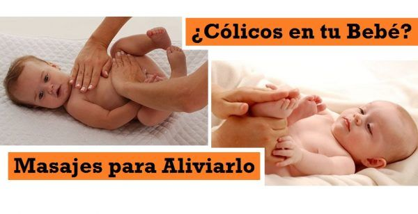 masajes colicos bebes