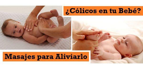 Aliviar colicos bebe 1 mes