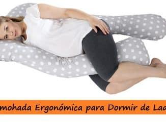 Almohada Ergonómica para Dormir de Lado