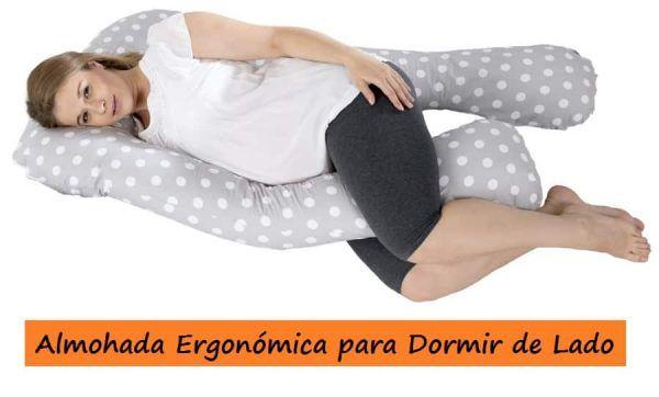 Almohada ergon mica para dormir de lado ergonom a - Los mejores colchones para descansar ...