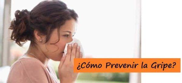 Consejos para prevenir la gripe en invierno