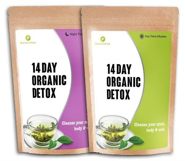 Nutrient Wise - (Orgánico Detox Té Verde De Hierbas Naturales)