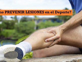 Consejos para PREVENIR Lesiones en el Deporte