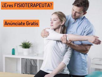 Anuncio Fisioterapia a Domicilio