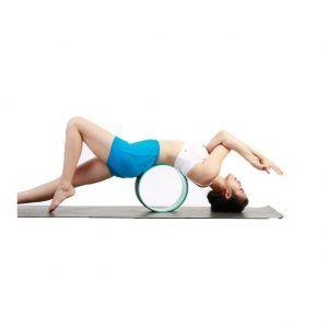 Rueda de pilates y relajación muscular