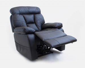 Sillón eléctrico de masaje y relajación con reclinación articulada