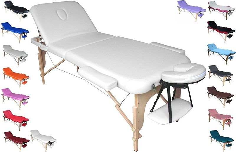 Camilla para masajes, depilacion y tatuajes