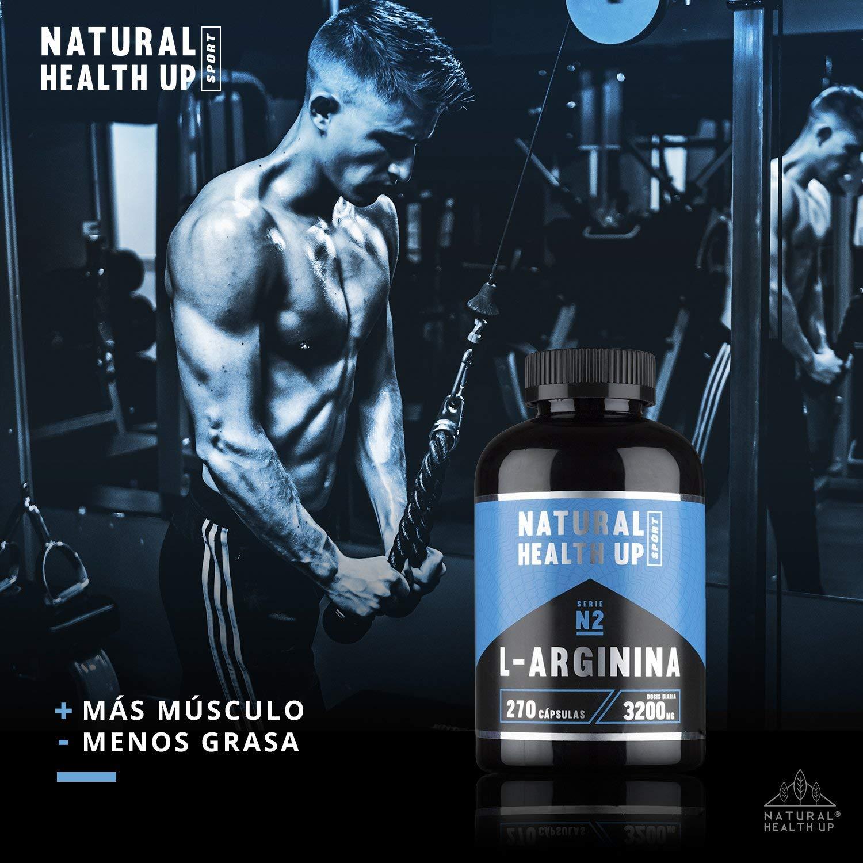 L-Arginina, Natural Health Up