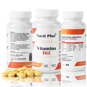 Vitamina B12 de Navit Plus