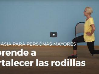 Fortalecer Rodillas Personas Mayores